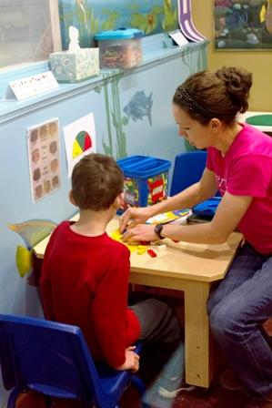 Pediatric occupational therapy at TherAplay
