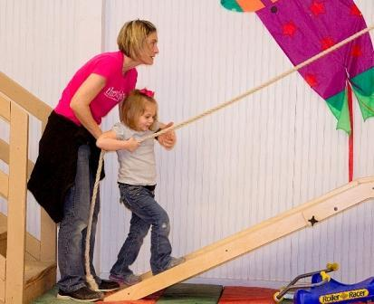 Pediatric physical therapy at TherAplay