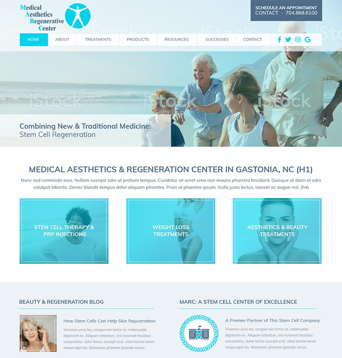 Medical Practice & Doctor Website Theme 5
