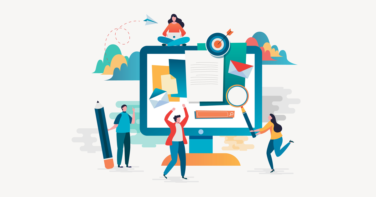 Content Marketing centers around your website and CMS