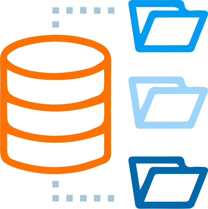 Manage large amount of data easily with Datastores, or repositories in Marketpath CMS