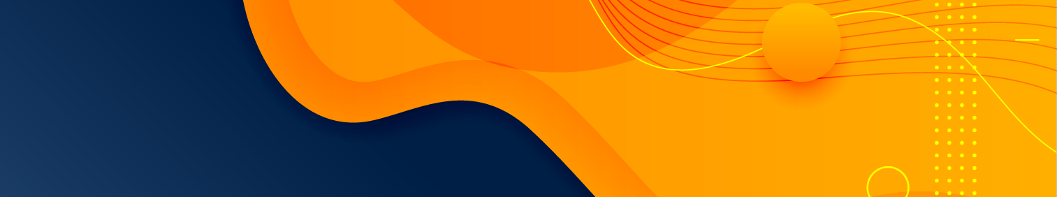 Stylish orange blue fluid gradient background (source: freepik.com)