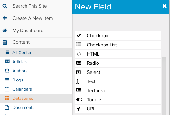 Datastore User Fields   Marketpath CMS