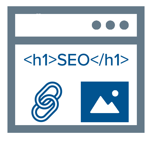 Marketpath CMS makes it easy to configure on-page SEO elements like Headings, Image Alt, and Links