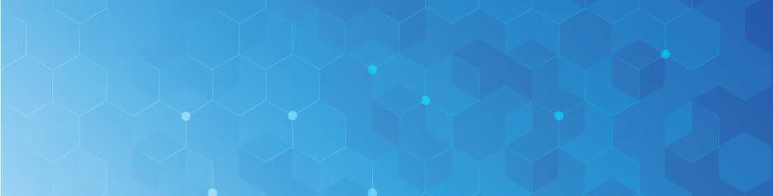 Honeycomb hexagonal blue shapes background