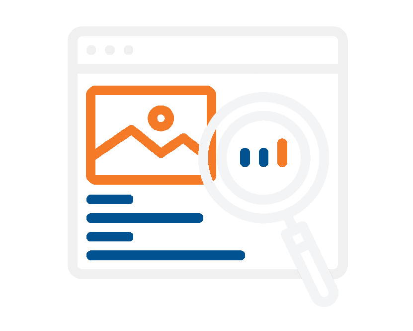 On-page SEO tactics icon (adapted from nounproject.com)
