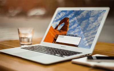 Graphic Representation of Image Preset on a Laptop | Marketpath CMS