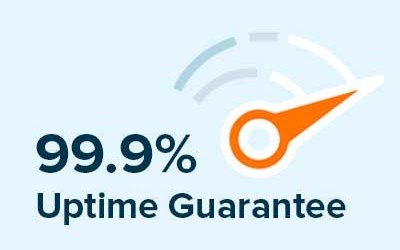 Marketpath CMS features a 99.9% website uptime guarantee