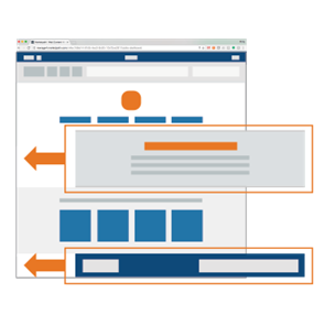 Leverage partial templates to create pages for content editors to use in Marketpath CMS