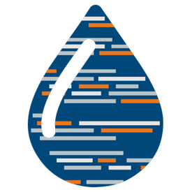 Liquid Template Language icon in Marketpath brand colors