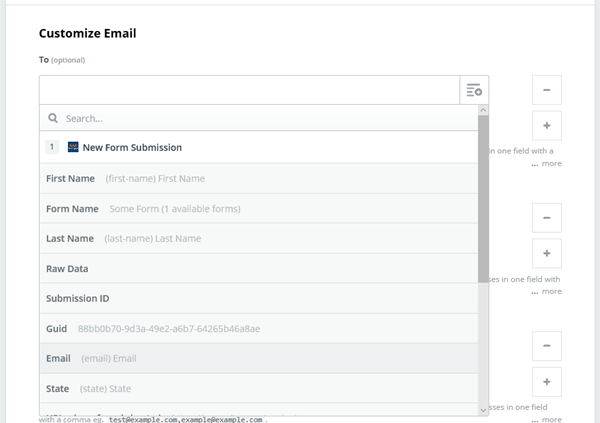 automation-zapier-select-email-field