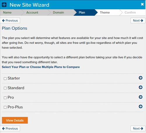 new-site-wizard-plan