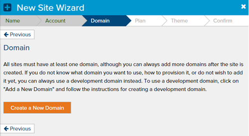 new-site-wizard-domain