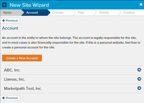 create-site-select-account