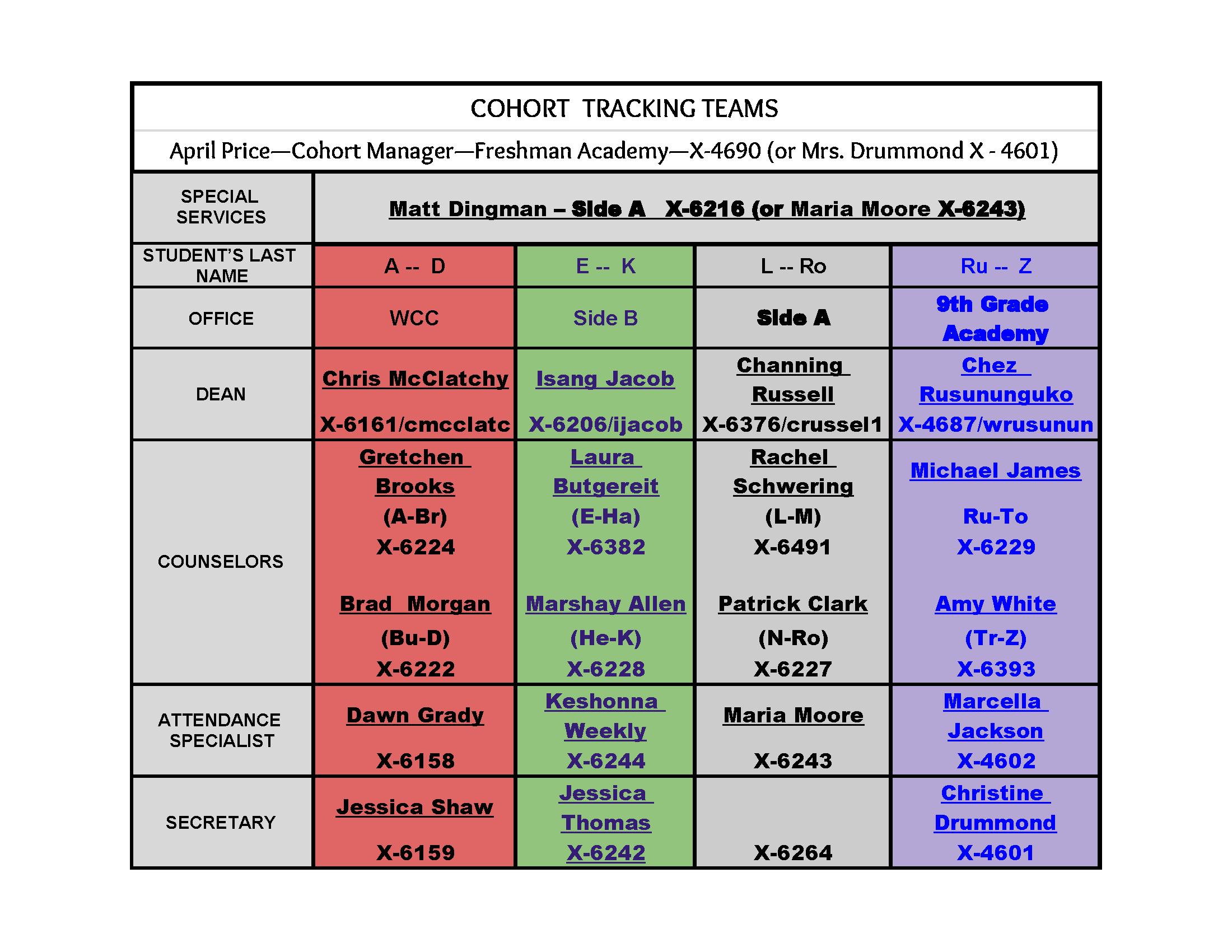 WCHS Cohort Matrix.png