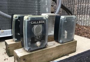 DMR Digital Callbox Weather Exposure