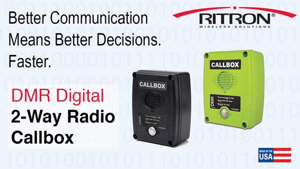 Ritron DMR Callbox - Better Communication
