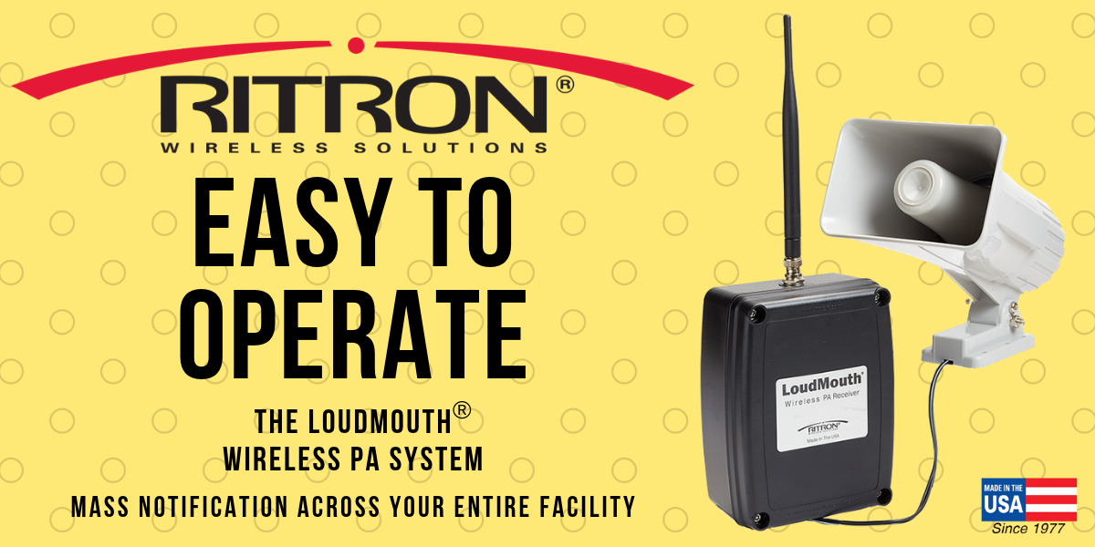 Easy To Operate: The LoudMouth® Wireless PA System
