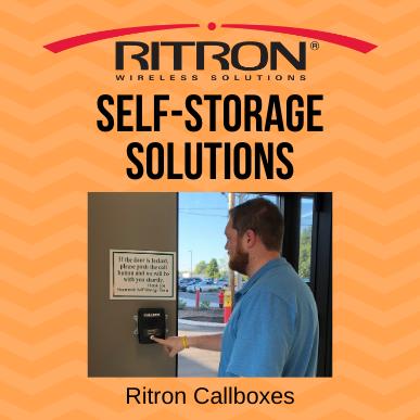 Self Storage Solutions - Ritron Callbox