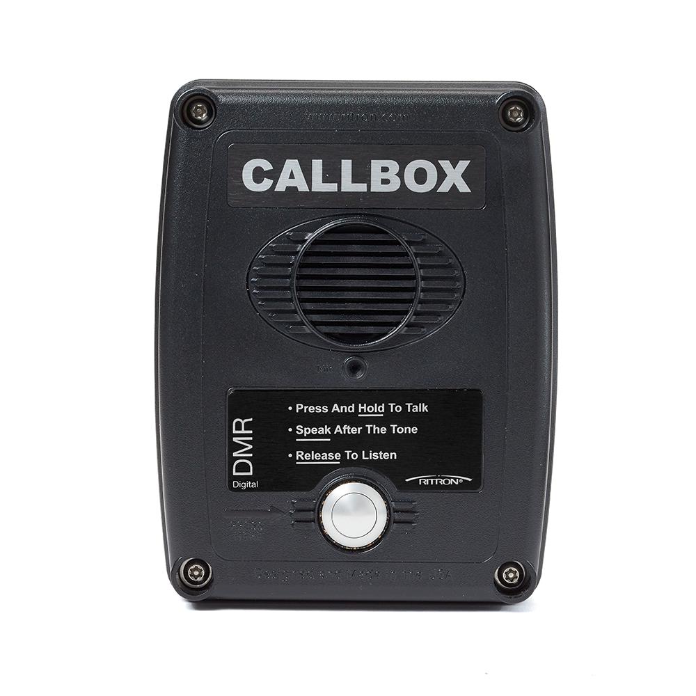 2 Way Radio Call Box   Wireless Communication   Ritron DMR