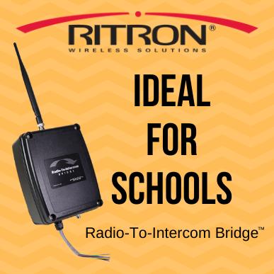 Ideal for Schools - Radio-To-Intercom Bridge