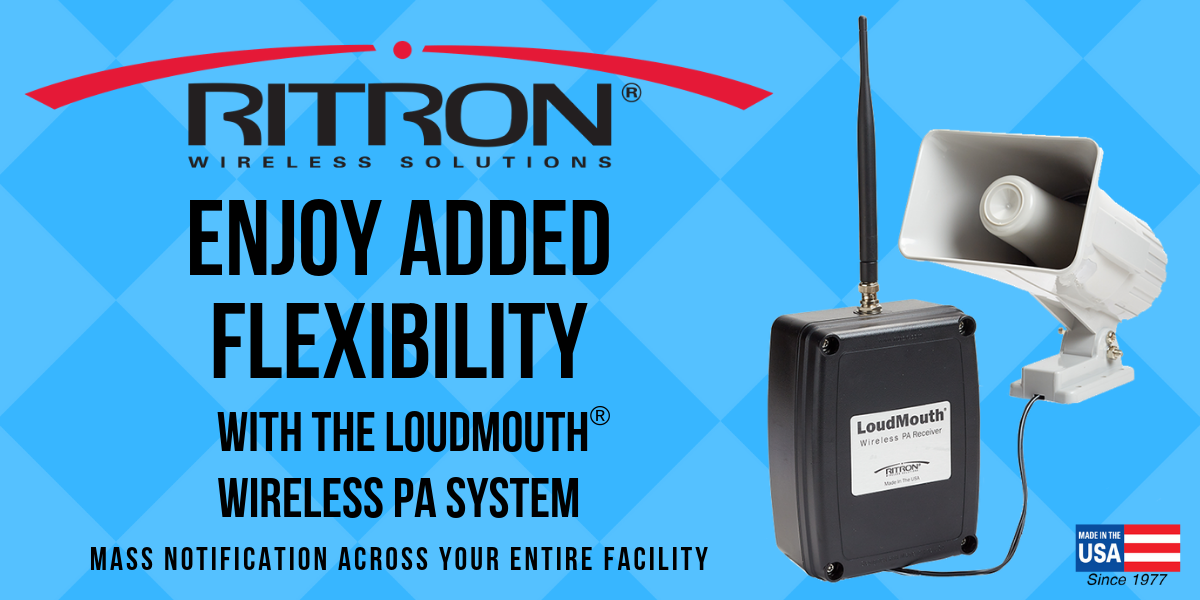LoudMouth® Wireless PA Offers Added Flexibility
