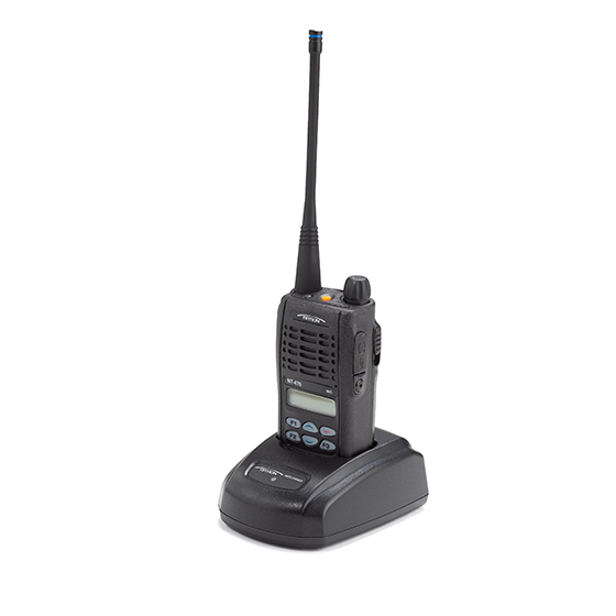 NT radio in charging stand-560