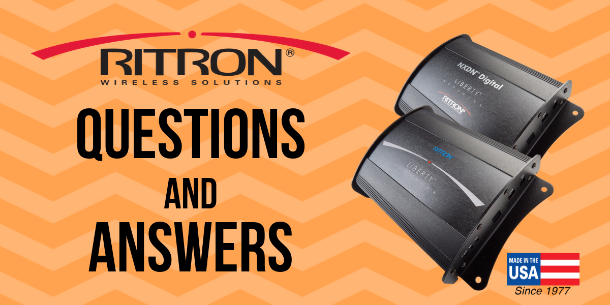 Questions and Answers - Ritron Liberty™ Radio Repeaters