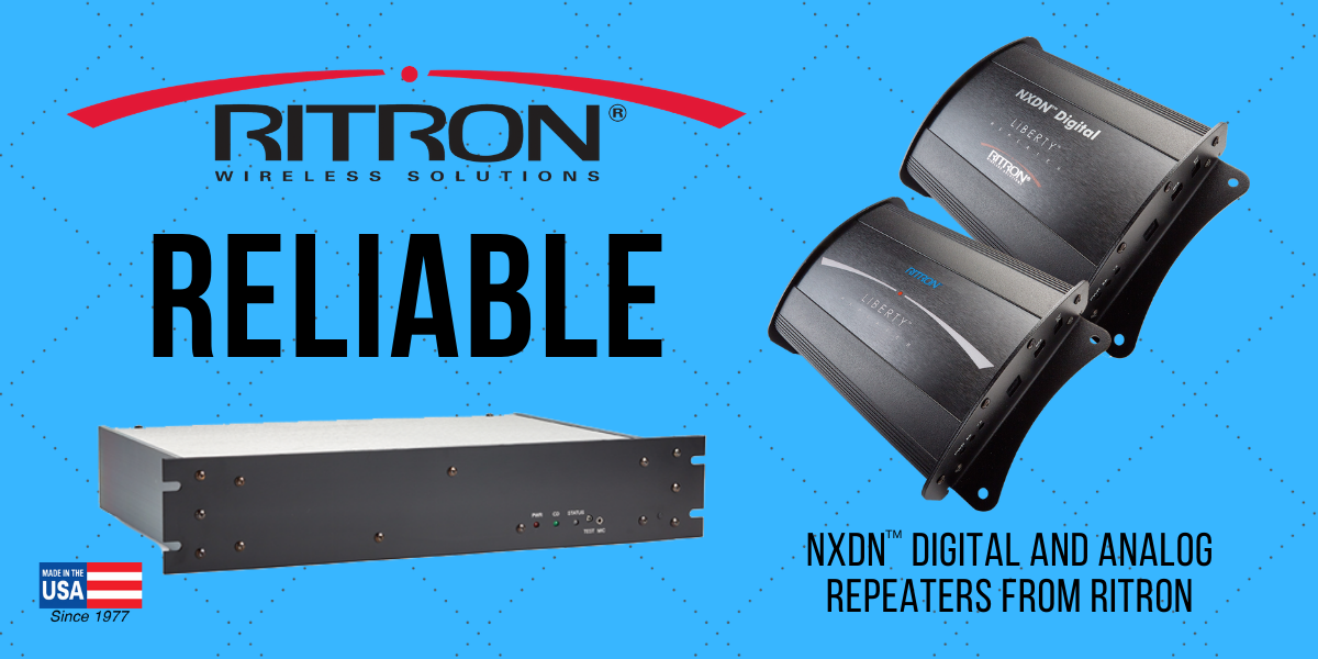 Ritron Repeaters Enable Reliable Communications