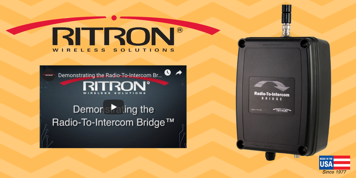 Demonstrating the Radio-To-Intercom Bridge™ to Your Customers