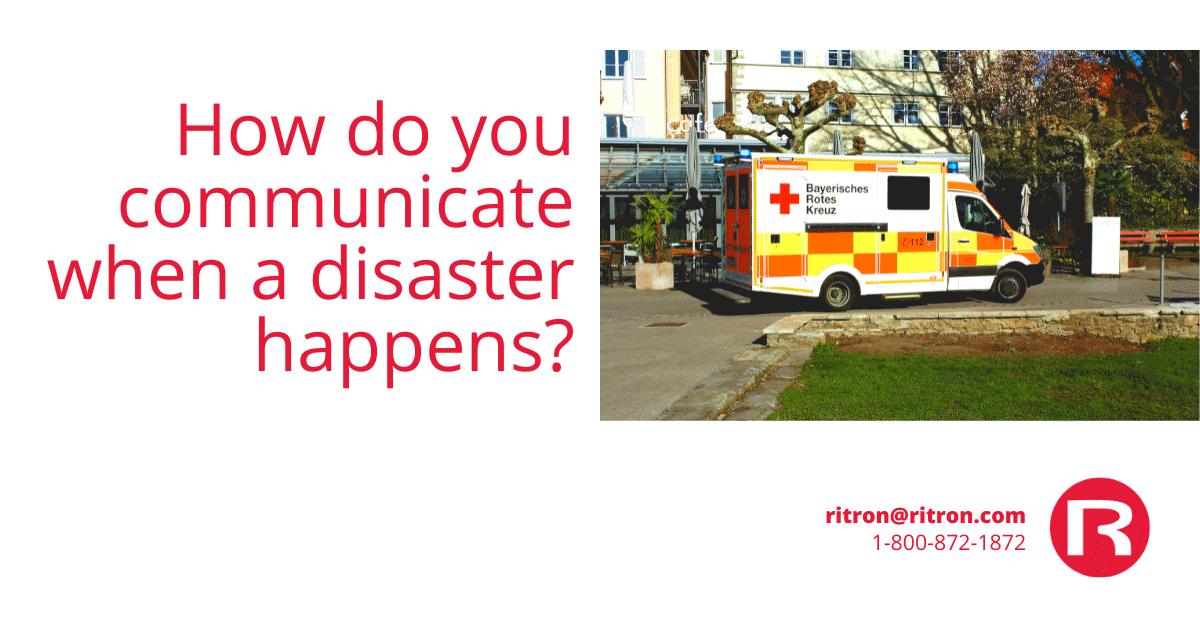 Emergency Communications Equipment