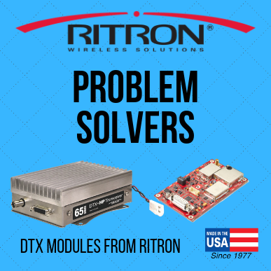 DTX Problem Solving Data Radios from Ritron