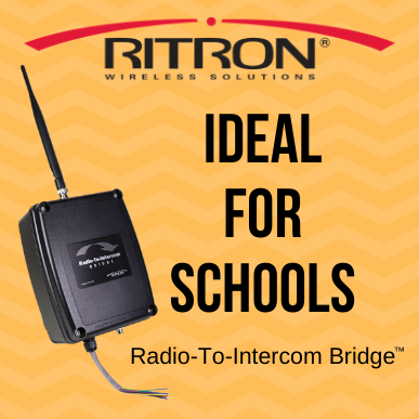 Ideal for Schools - Radio-To-Intercom Bridge