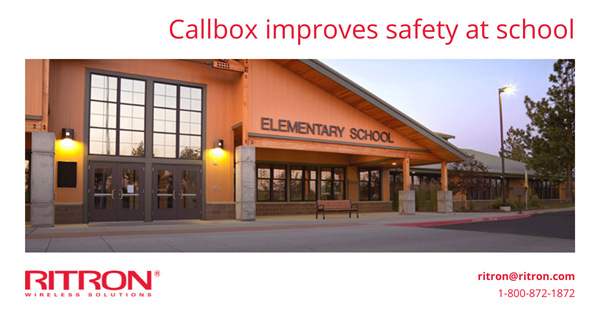 Improved safety at school