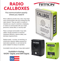 Versatile and Cost Effective Callboxes from Ritron