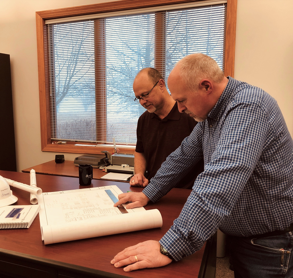 spectrum engineering team working on utility business consulting