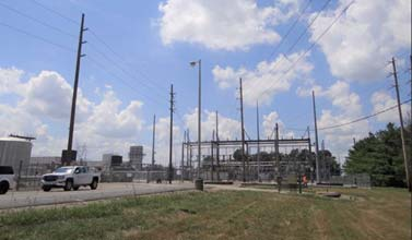 New substation in Anderson, Indiana