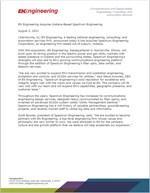 EN Engineering and Spectrum Engineering Partnership Announcement (PDF)