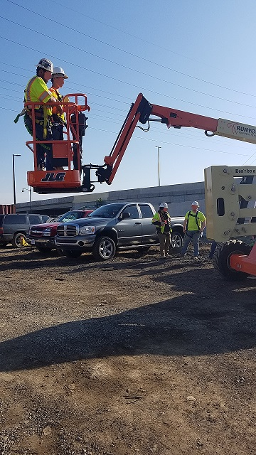 DR-Smock Fansler – 96TH & Keystone Project Aerial Lift Training