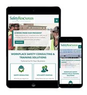 ​Responsive, mobile-friendly website for Safety Resources