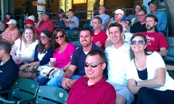 Indianapolis Indiana Indians baseball game Safety Resources team outing