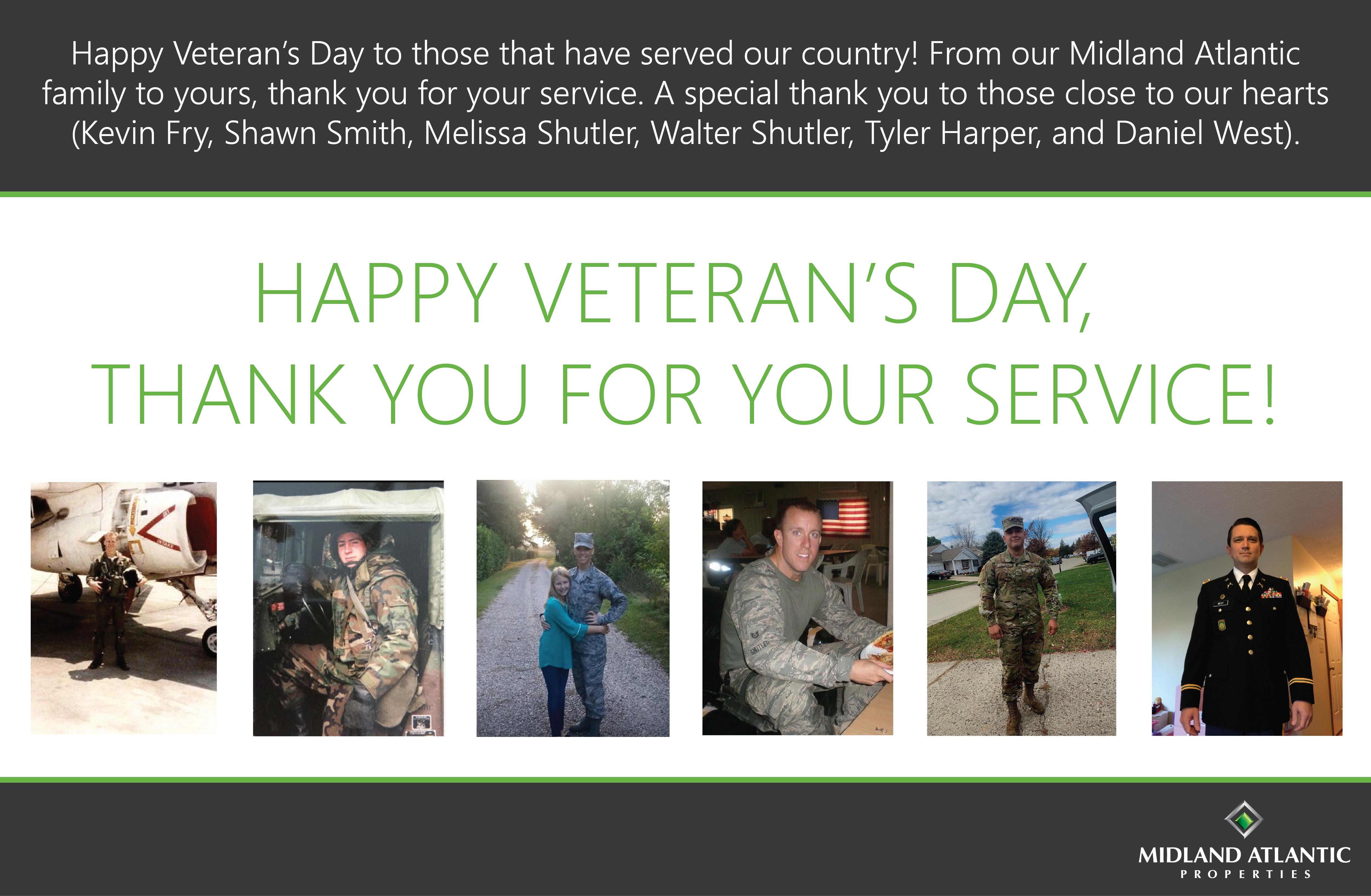 Veteran's Day Website