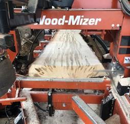 custom sawing Indiana hardwood