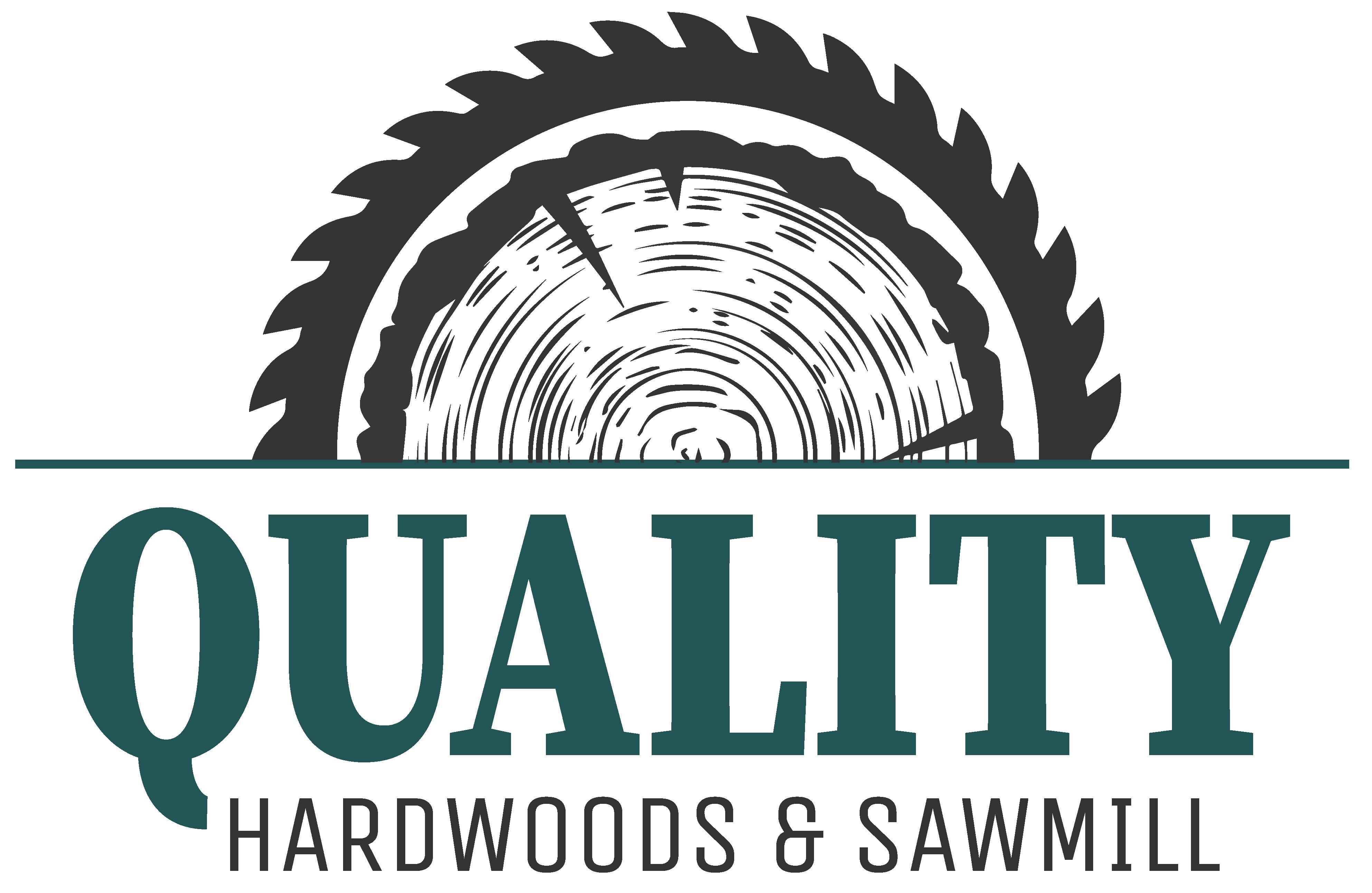 Quality Hardwoods & Sawmill Logo