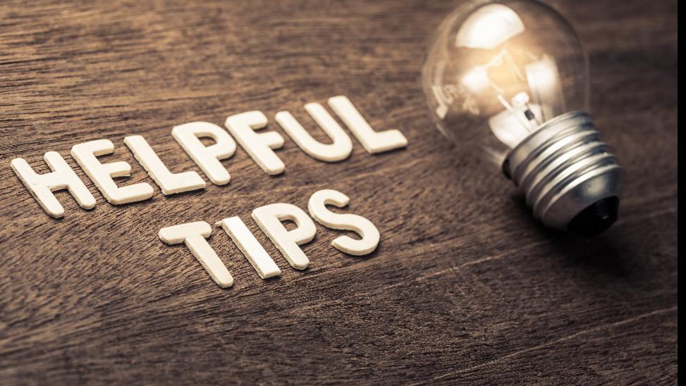 Helpful Tips1