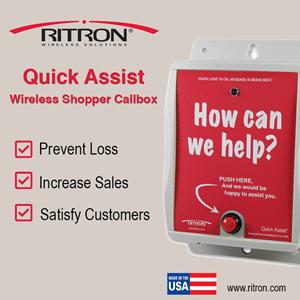 Ritron RQA Wireless Shopper Callbox