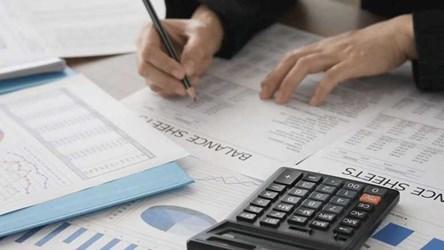 Auditor performing audit