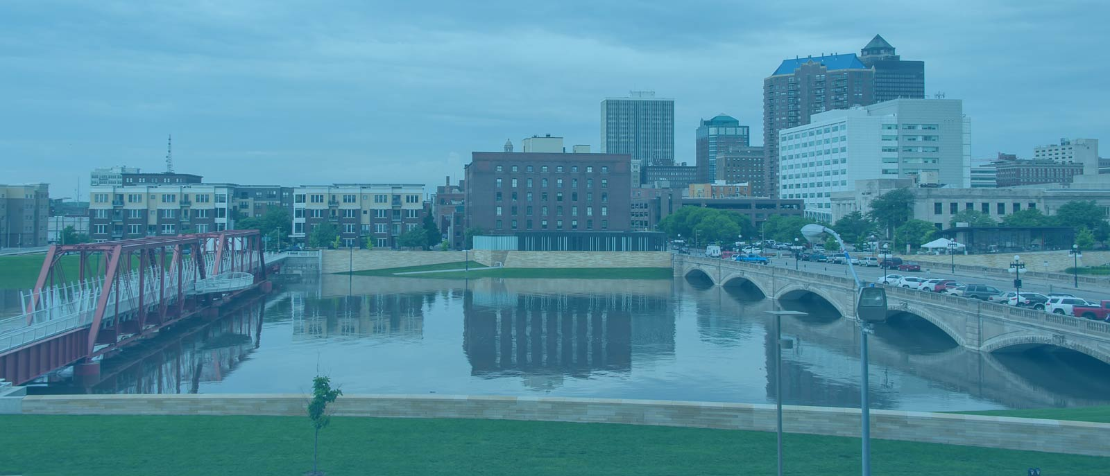 """Des Moines; """"Des Moines Iowa"""" flickr photo by cwwycoff1 https://flickr.com/photos/carlwwycoff/19190072505 shared under a Creative Commons (BY) license"""