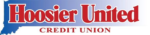 Hoosier United Credit Union Logo in color