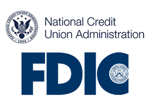 NCUA & FDIC Logos in color